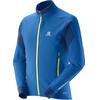 Salomon M's Momentum Softshell Jacket Midnight Blue